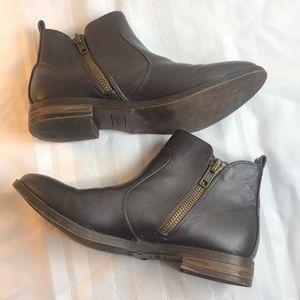 Report Donne bootie Sz 8.5 dark brown